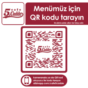 Masa QR Etiketi-65x65 5.Cadde 168 Adet