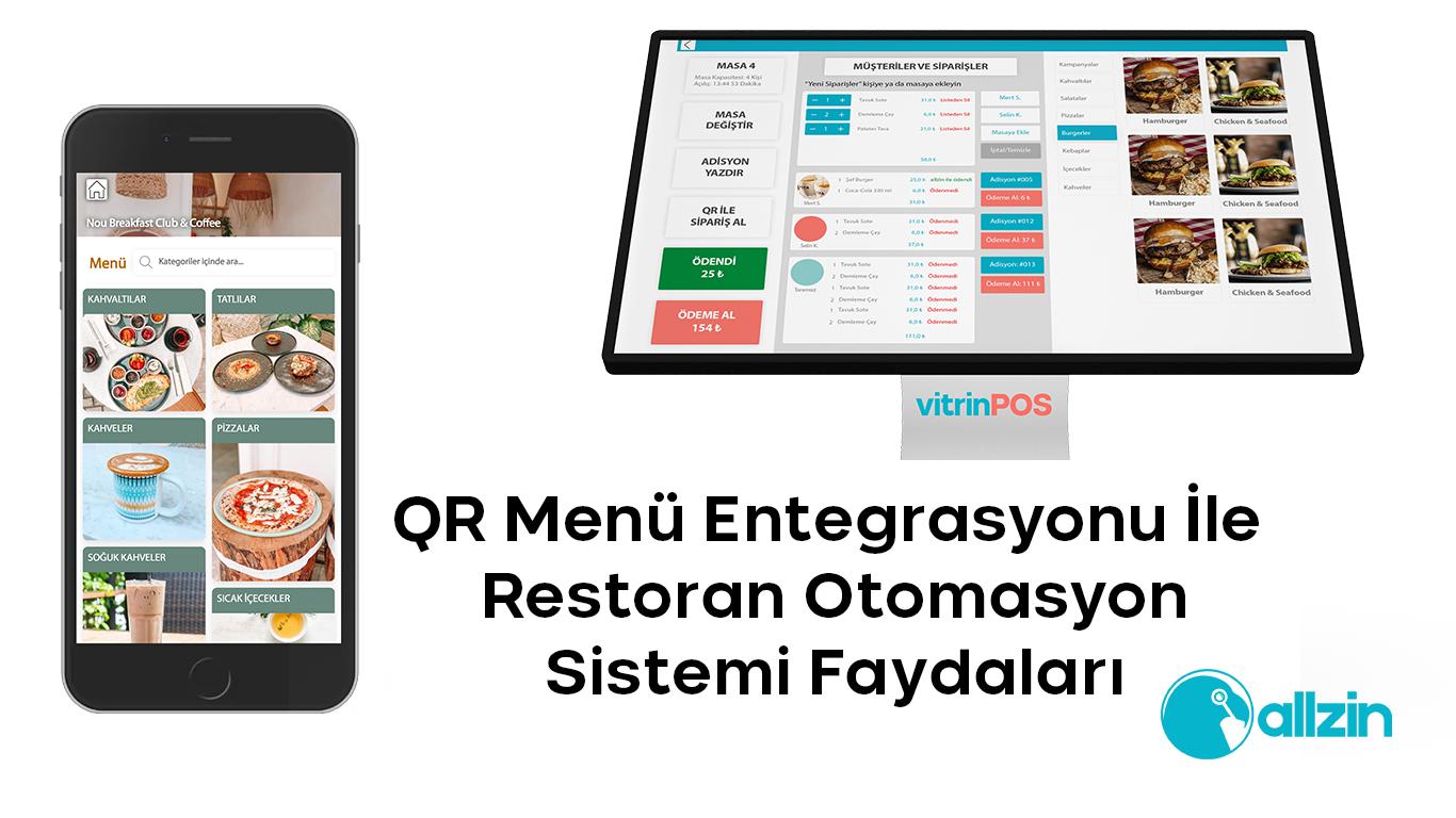 Restoran Otomasyon Sistemi QR Menü Entegrasyonu 15 Fayda